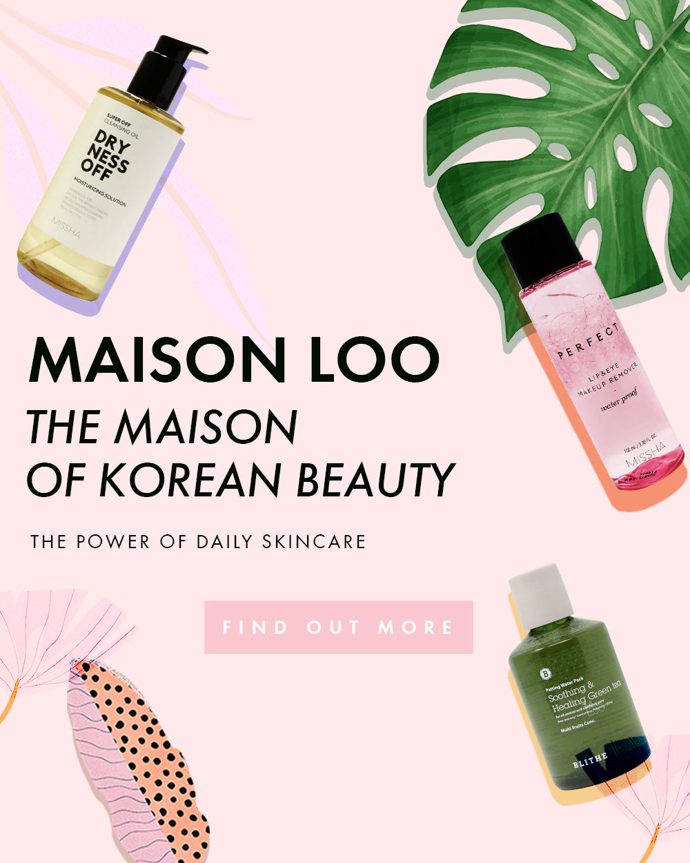 Korean cosmetics for the care of your skin