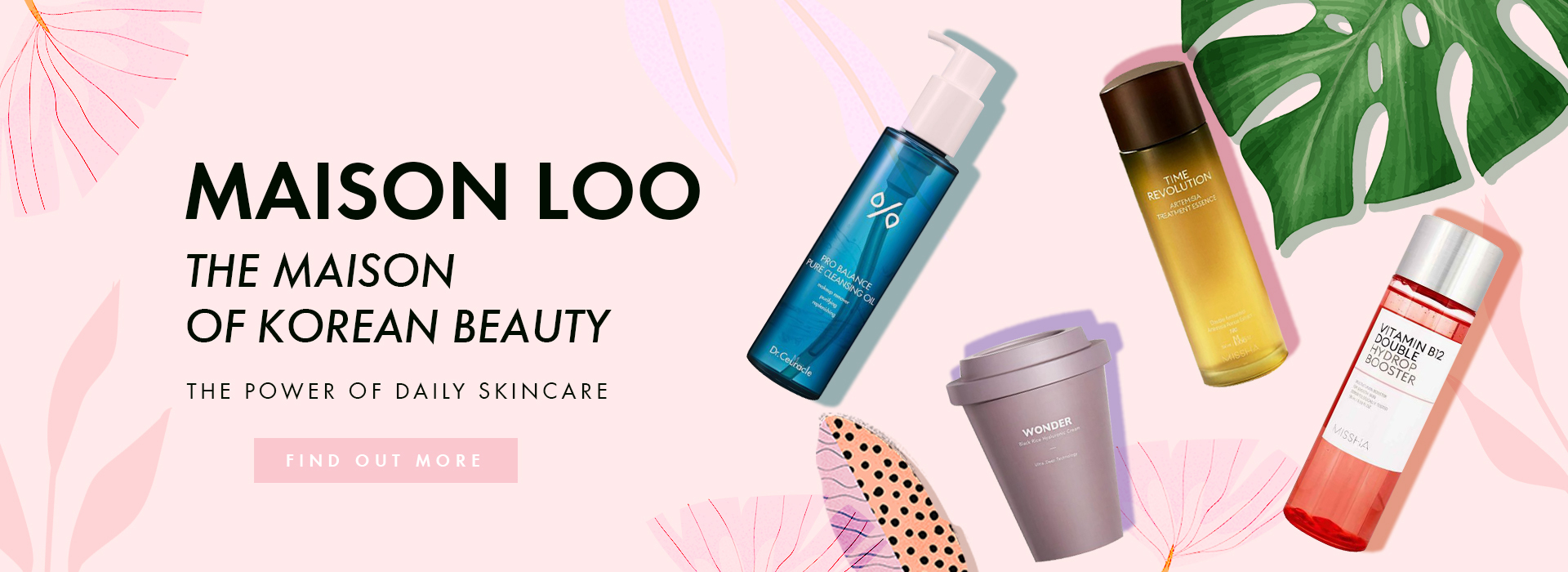 Korean Skincare Products - The power of daily Korean Skincare - Maison Loo